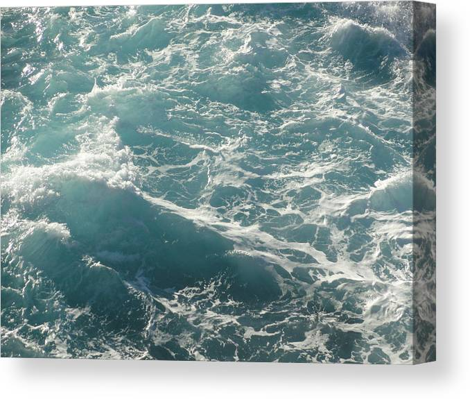 Waves Canvas Print featuring the photograph Churn by Shannon Grissom
