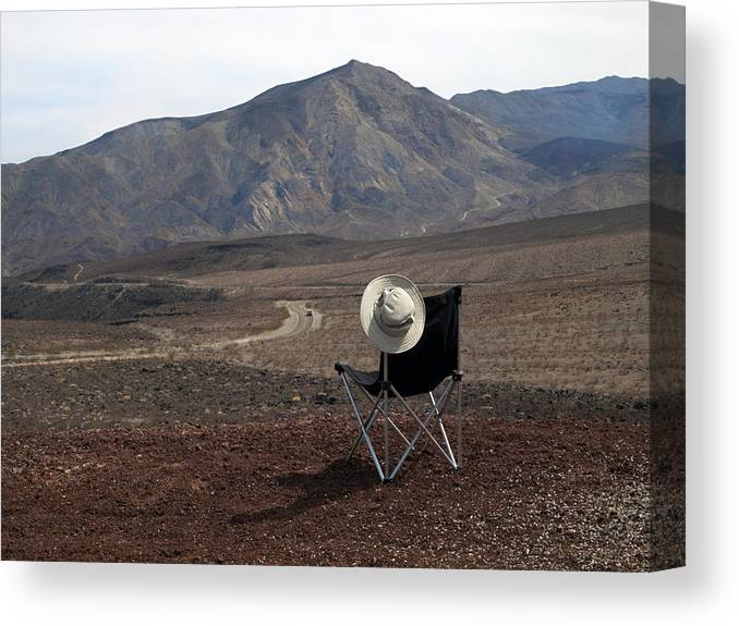 Highway Canvas Print featuring the photograph Far As My Eyes Can See by Joe Schofield