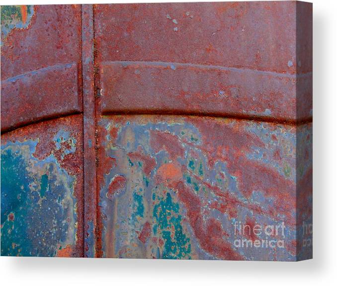 Rust Canvas Print featuring the photograph For The Love Of Rust II by Marilyn Smith
