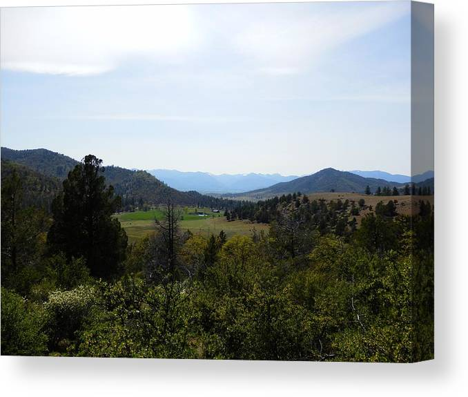 Mountain Canvas Print featuring the photograph Front Range Lies Ahead by William McCoy