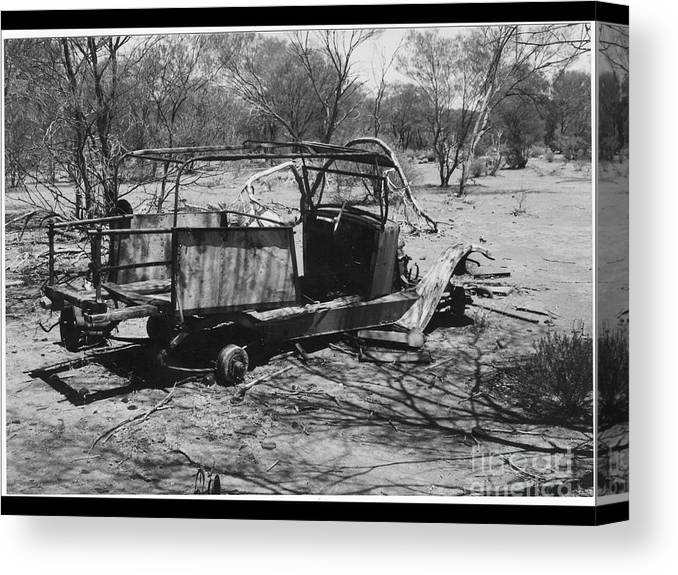 Canvas Print featuring the photograph Lost Also by Barry Olsen