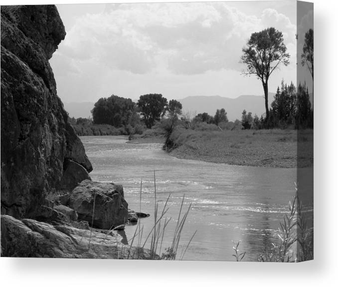 Missouri Canvas Print featuring the photograph Missouri Headwaters by Jesse Thrush