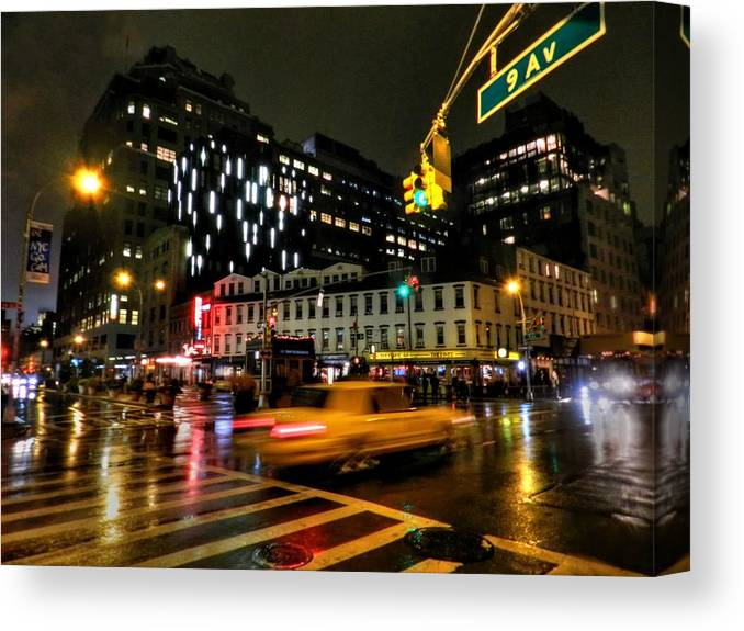 New York City Canvas Print featuring the photograph New York City - Greenwich Village 001 by Lance Vaughn