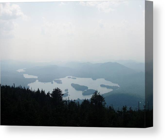 Canvas Print featuring the photograph Placid Morning by Lindsay Kurek