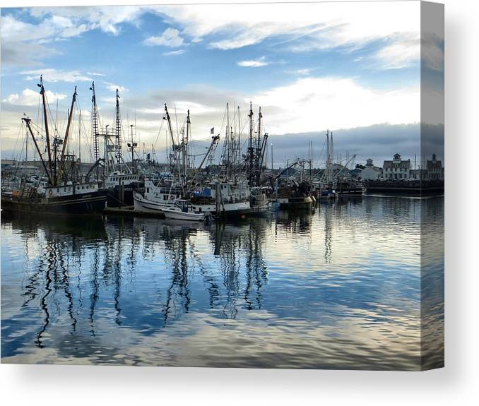 Reflections Canvas Print featuring the photograph Reflections by Jim Romo