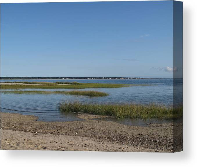 Sea Canvas Print featuring the photograph Rising Tide by Barbara McDevitt