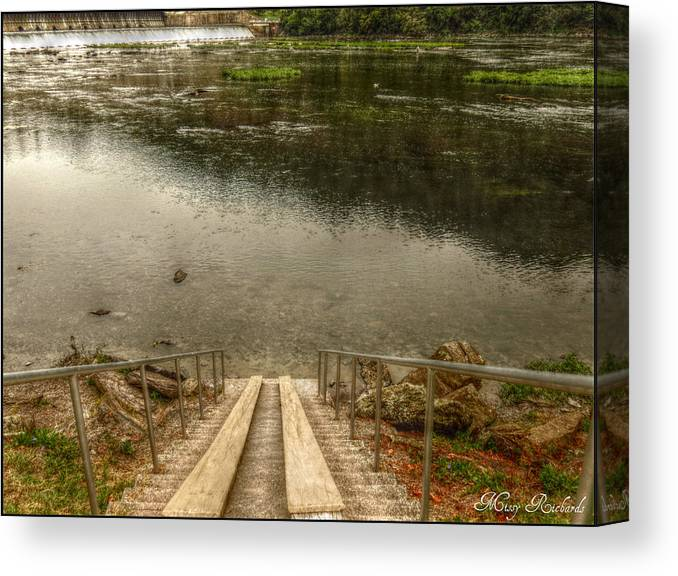 West Virginia Canvas Print featuring the photograph Rivers Edge by Missy Richards