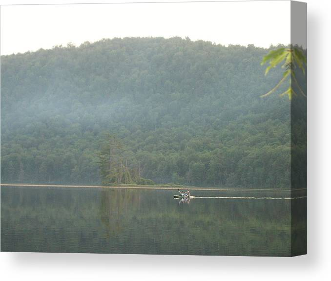 Canvas Print featuring the photograph Serenity by Lindsay Kurek