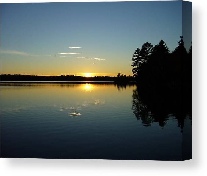 Band Canvas Print featuring the photograph Band Of Gold by Shirley Radebach