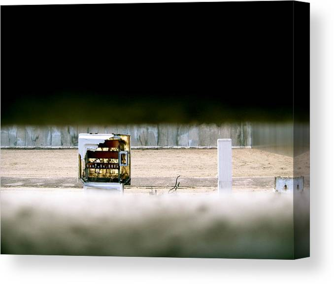 Berlin Canvas Print featuring the photograph Berlin Wall by Ariane Moshayedi