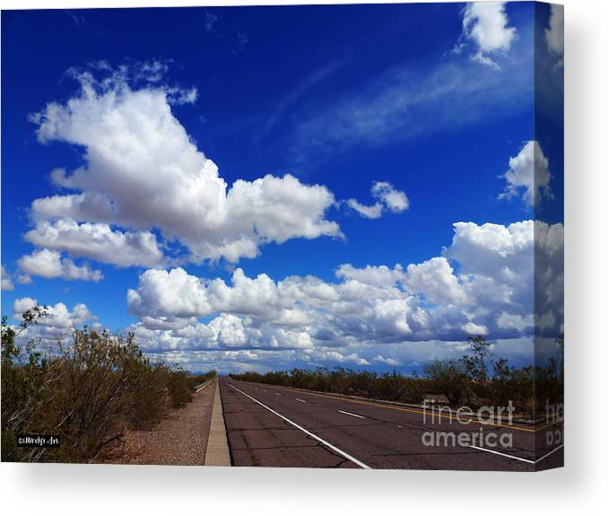 Sunrise Parkway Canvas Print featuring the photograph Sunrise Parkway by Methune Hively
