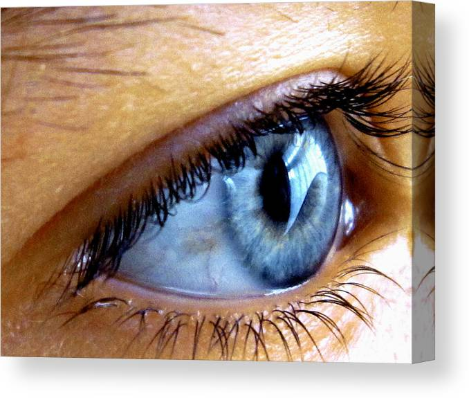 Canvas Print featuring the photograph The Eye by John Siwicki