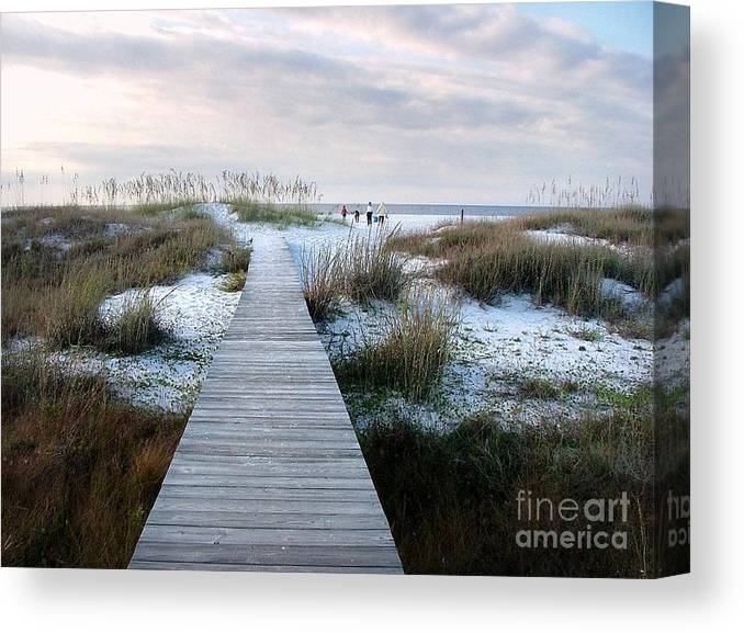 Dunes Canvas Print featuring the photograph Across The Dunes by Julie Dant