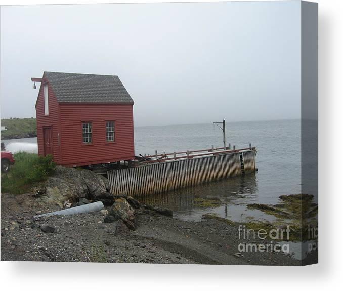 Photograph Bonavista Island Atlantic Ocean Newfoundland Canvas Print featuring the photograph Bonavista by Seon-Jeong Kim