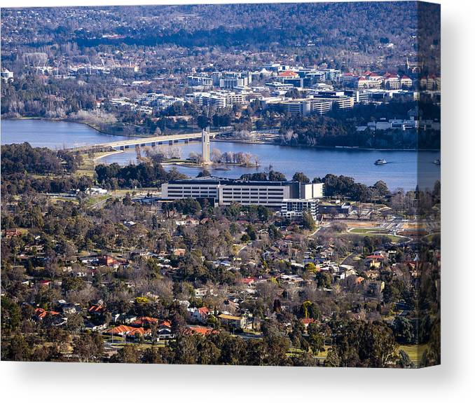 Australia Canvas Print featuring the photograph Carillon - Canberra - Australia by Steven Ralser