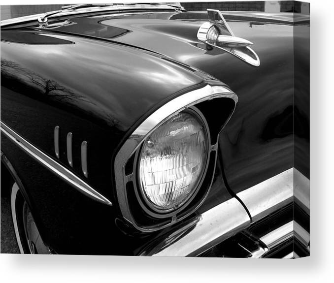 Car Canvas Print featuring the photograph 57 Chevy 2 by Audrey Venute