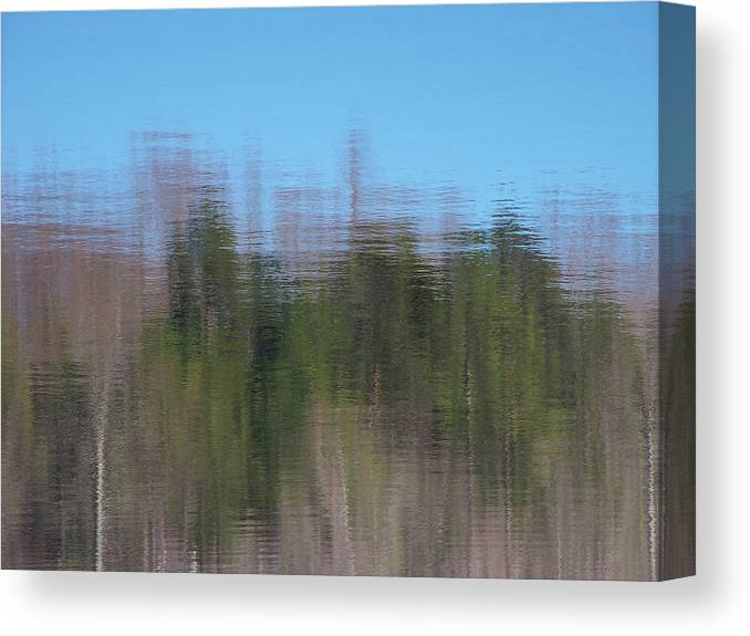 Reflections Canvas Print featuring the photograph 6000-reflections by Martha Abell