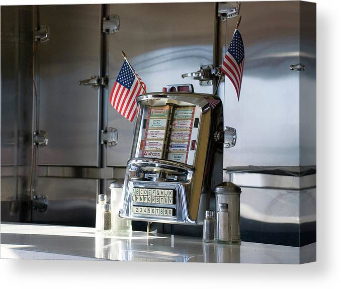 Diner Canvas Print featuring the photograph Americana by Randy Ford