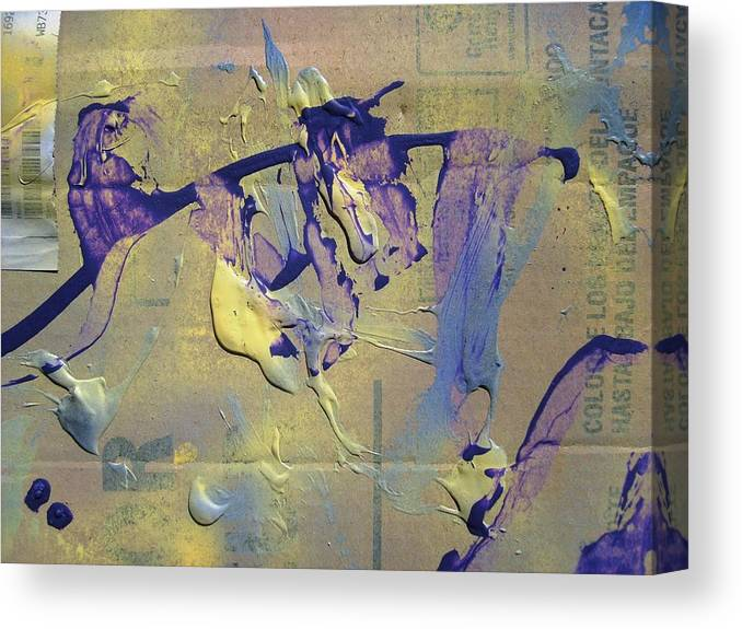 Abstract Canvas Print featuring the painting Bridge Of Old Hag Troll by Bruce Combs - REACH BEYOND