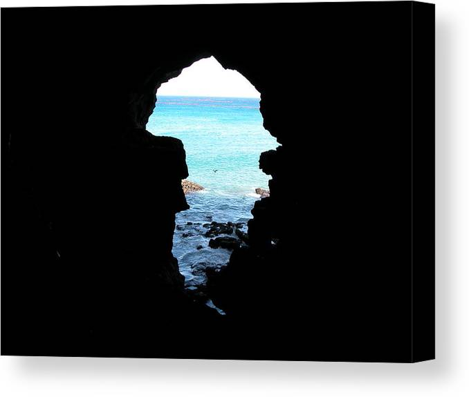 Travel Canvas Print featuring the photograph Caves Of Hercules by William Thomas