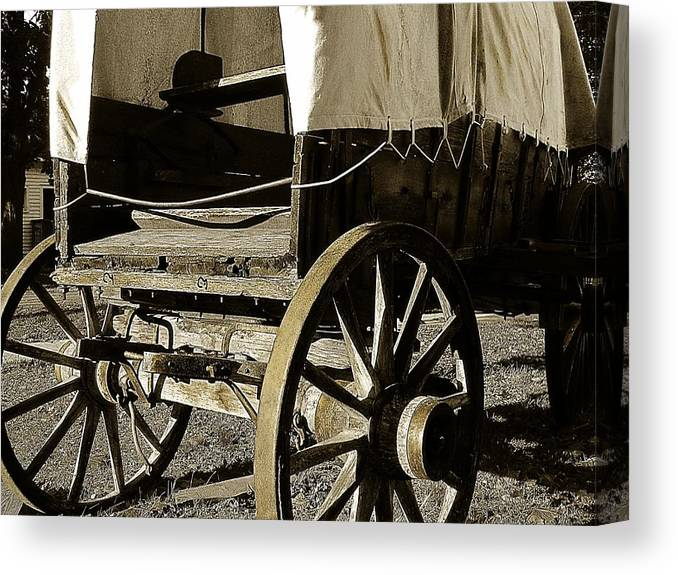 Hovind Canvas Print featuring the photograph Chuck Wagon 1 by Scott Hovind