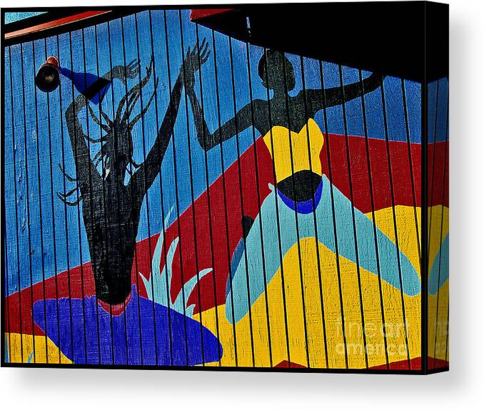 Color Canvas Print featuring the photograph Dancers by Curtis Staiger