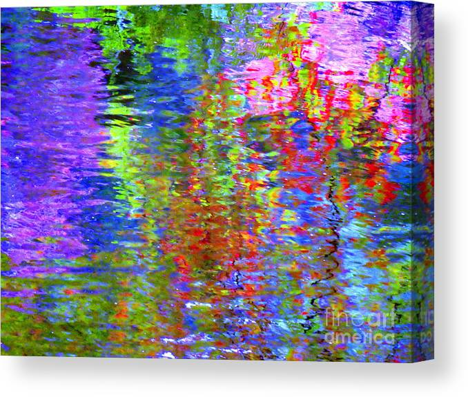 Abstract Canvas Print featuring the photograph Every Act Of Love by Sybil Staples