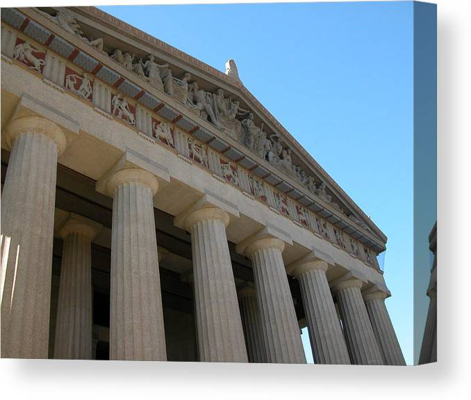 Nashville Canvas Print featuring the photograph Going Greek by Michael Morrison
