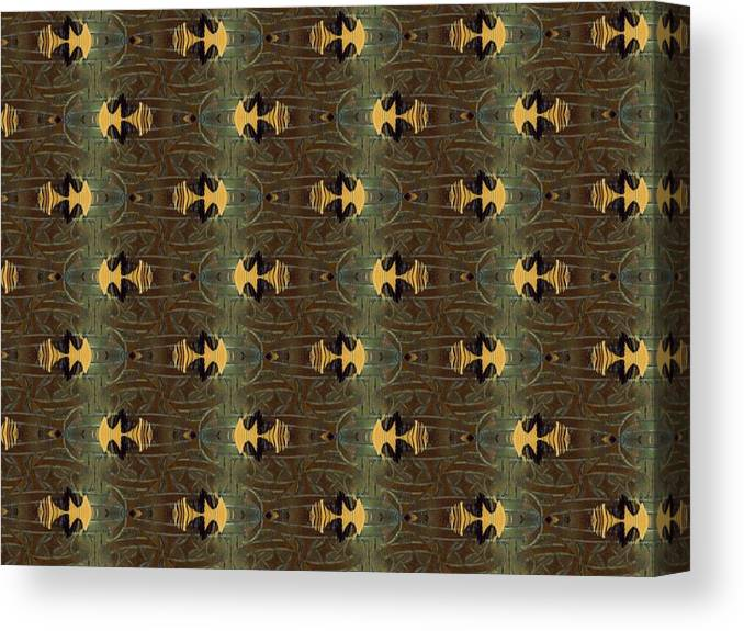 Cloth Canvas Print featuring the photograph Masculine Metal by Ricky Kendall