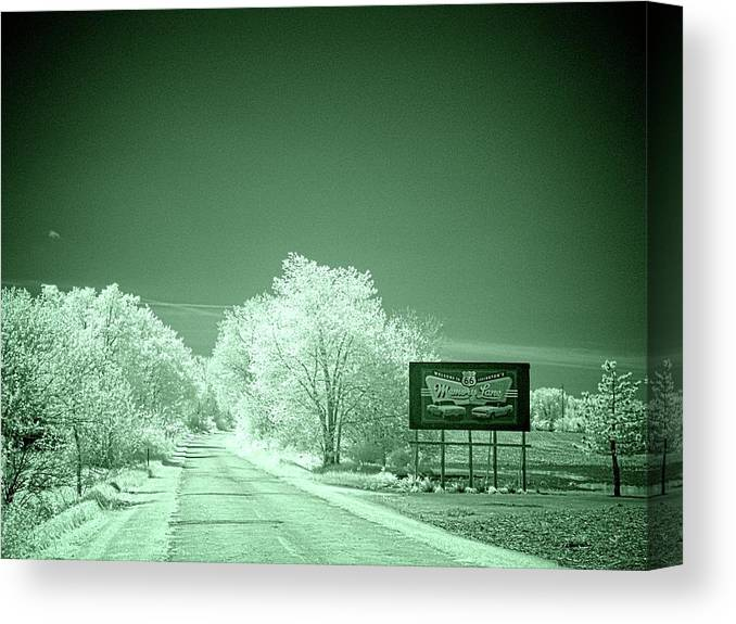 Lexington Canvas Print featuring the photograph Memory Lane Opus 2 by Fred Hahn