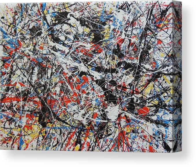 Abstract Canvas Print featuring the painting No. 8 by Robert Chambers