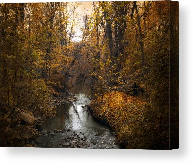 Seasons Canvas Print featuring the photograph River Views by Jessica Jenney