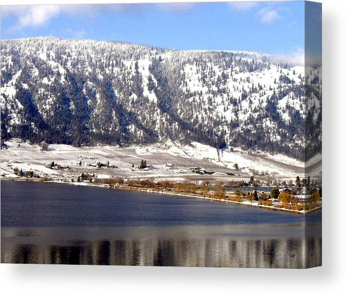 Oyama Canvas Print featuring the photograph Scenic Oyama by Will Borden