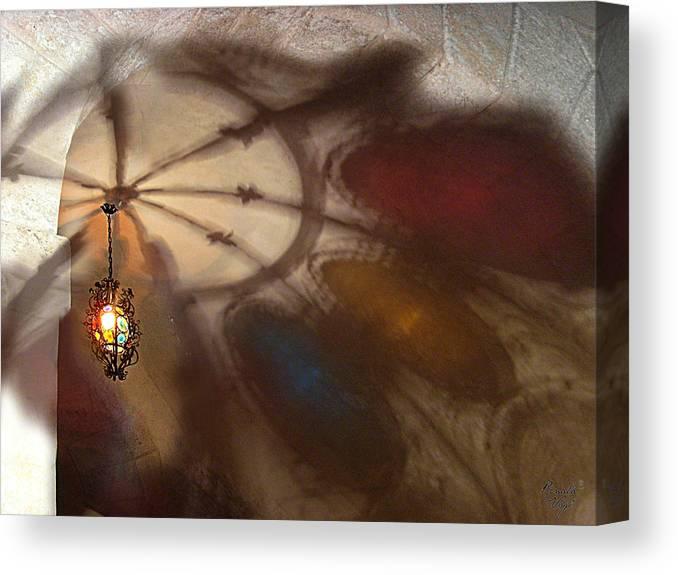 Schatten Canvas Print featuring the photograph Schattenspiele by Renata Vogl