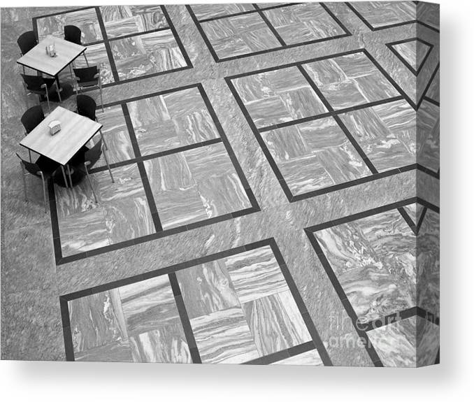 Squares Canvas Print featuring the photograph Squared by Ann Horn