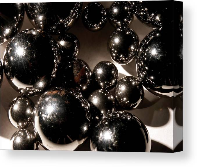 Steel Canvas Print featuring the photograph Steel by Ken Norcross