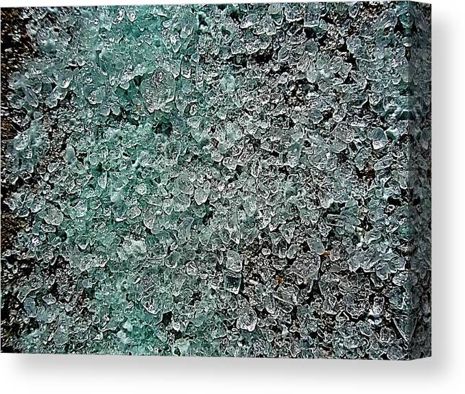 Too Much Salt Canvas Print featuring the photograph Too Much Salt by Beth Akerman