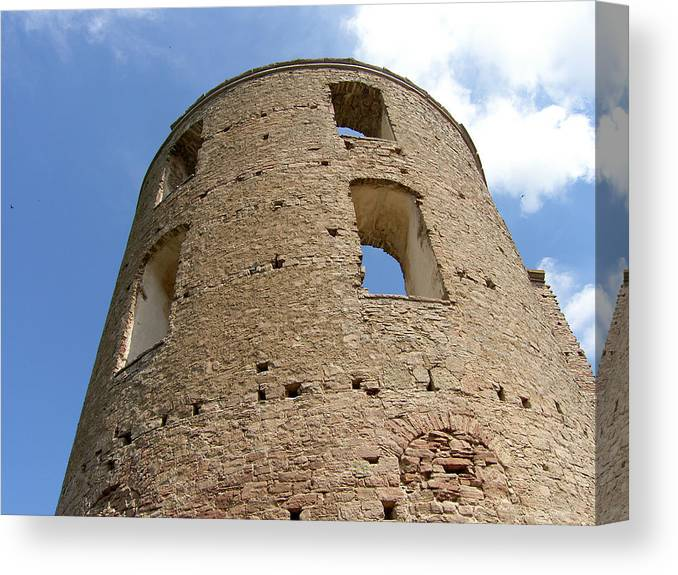Castle Canvas Print featuring the photograph Tower by Are Lund