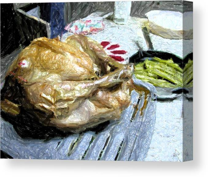 Holiday Canvas Print featuring the photograph Turkey by Michael Morrison