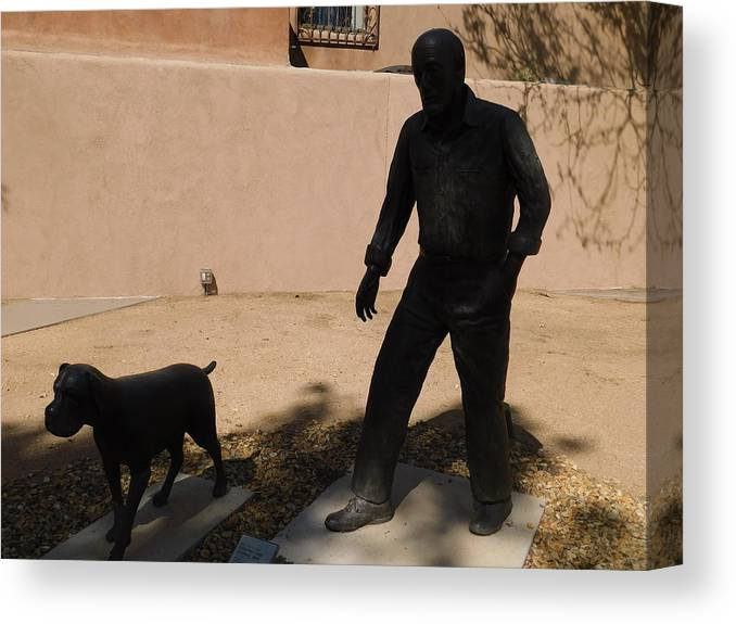Shadow People Canvas Print featuring the photograph Incognito by Mary L Richardson