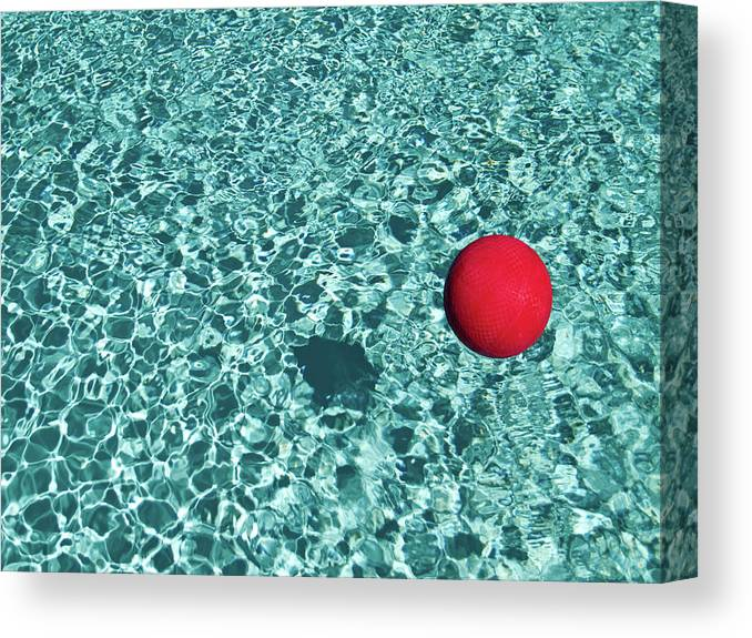Ball Canvas Print featuring the photograph Reflection by Mark A Paulda