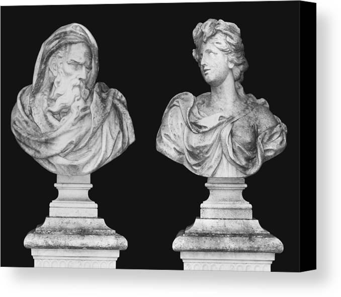 Zeus Canvas Print featuring the photograph Classics by Kristin Elmquist