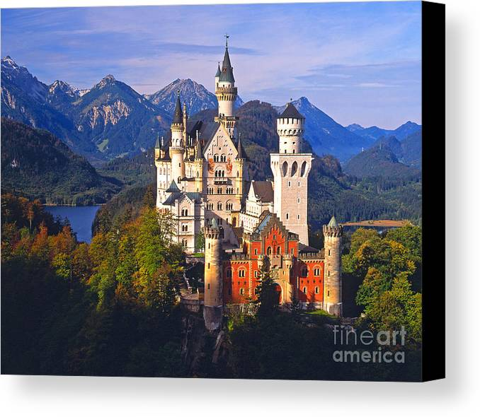 Landscape Canvas Print featuring the photograph Late Summer Panorama by Don Ellis