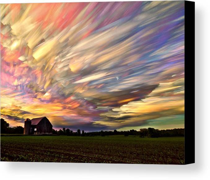 Sunset Spectrum Canvas Print Canvas Art By Matt Molloy