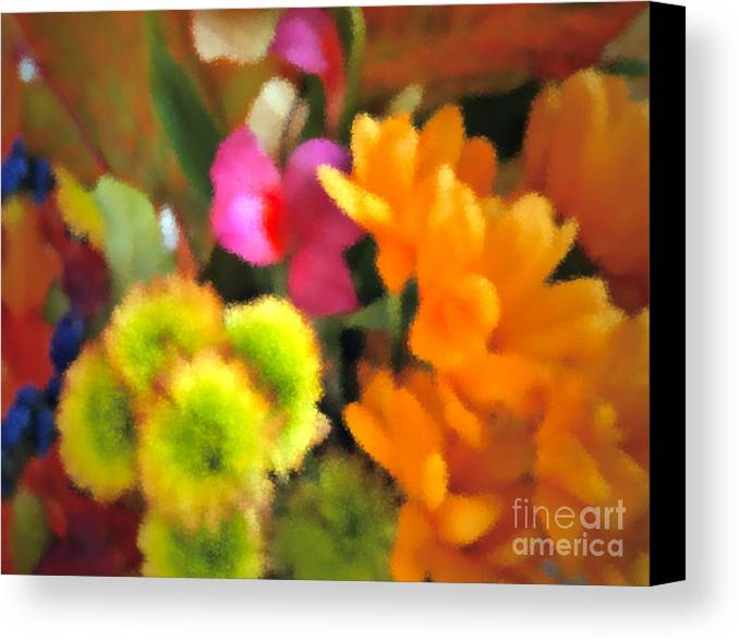 Fall Canvas Print featuring the photograph That Fall Feeling by Gwyn Newcombe
