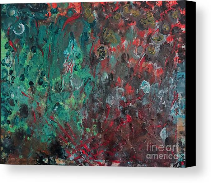 Summer Canvas Print featuring the painting Autumnal Equinox by Dennis Haugan