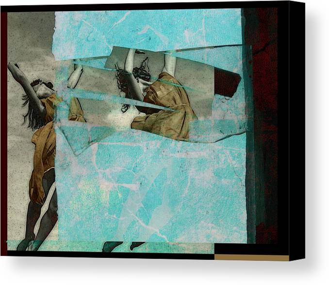 Figurative Canvas Print featuring the photograph Break The Sky by Adam Kissel