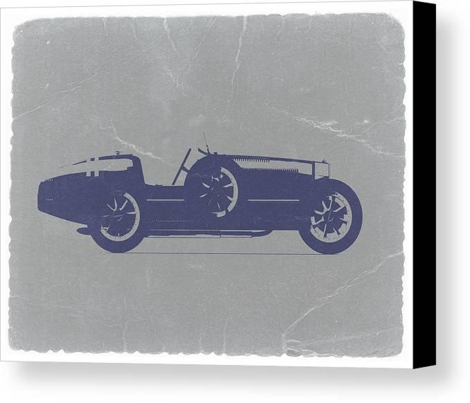 Bugatti Type 35 Canvas Print featuring the photograph Bugatti Type 35 by Naxart Studio