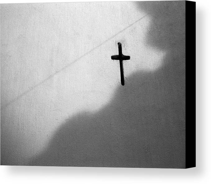 Buenos Aires Canvas Print featuring the photograph Cross by Marcus Best