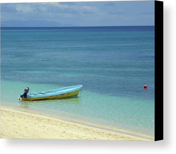 Beach Canvas Print featuring the photograph South Pacific Dreams by Bruce